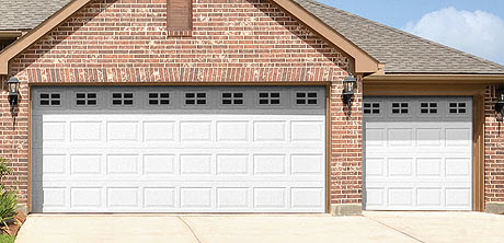 Charming Traditional Steel Garage Doors