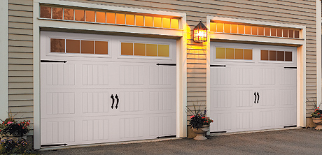 Charming Traditional Steel Garage Doors